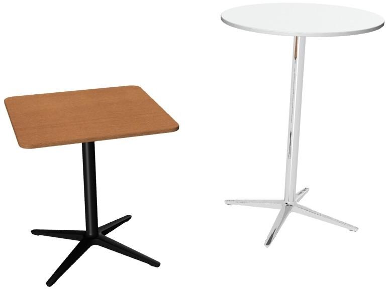 """Sedus """"meet table"""" Bistrotische mt-332 und Stehtische mt-333"""