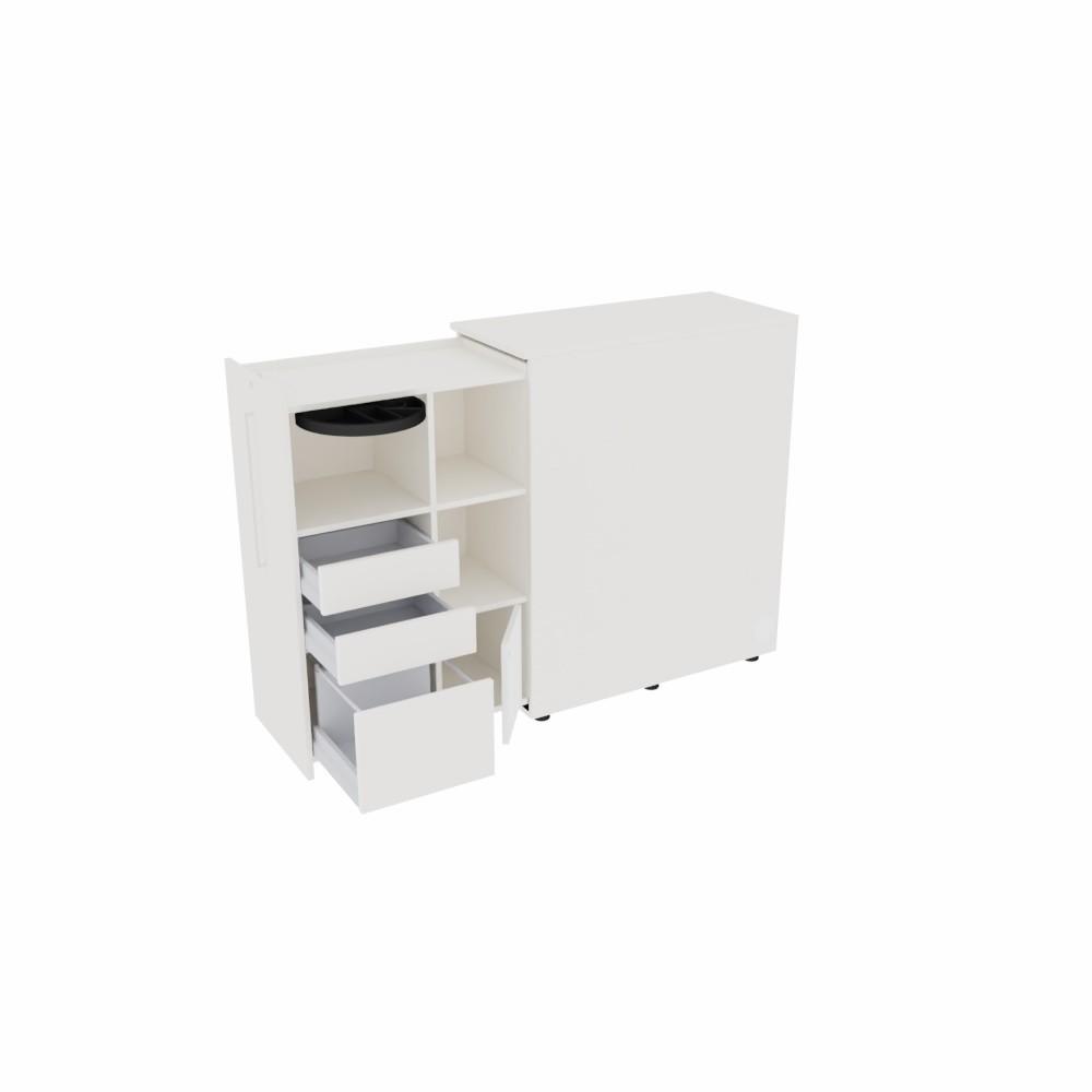 """Leuwico """"desk-add"""" Apothekerschrank"""