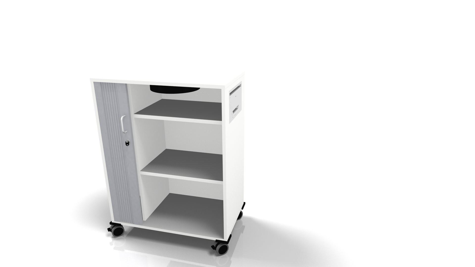 """Leuwico """"desk-add"""" mit Querrollladen, 80 cm breit"""