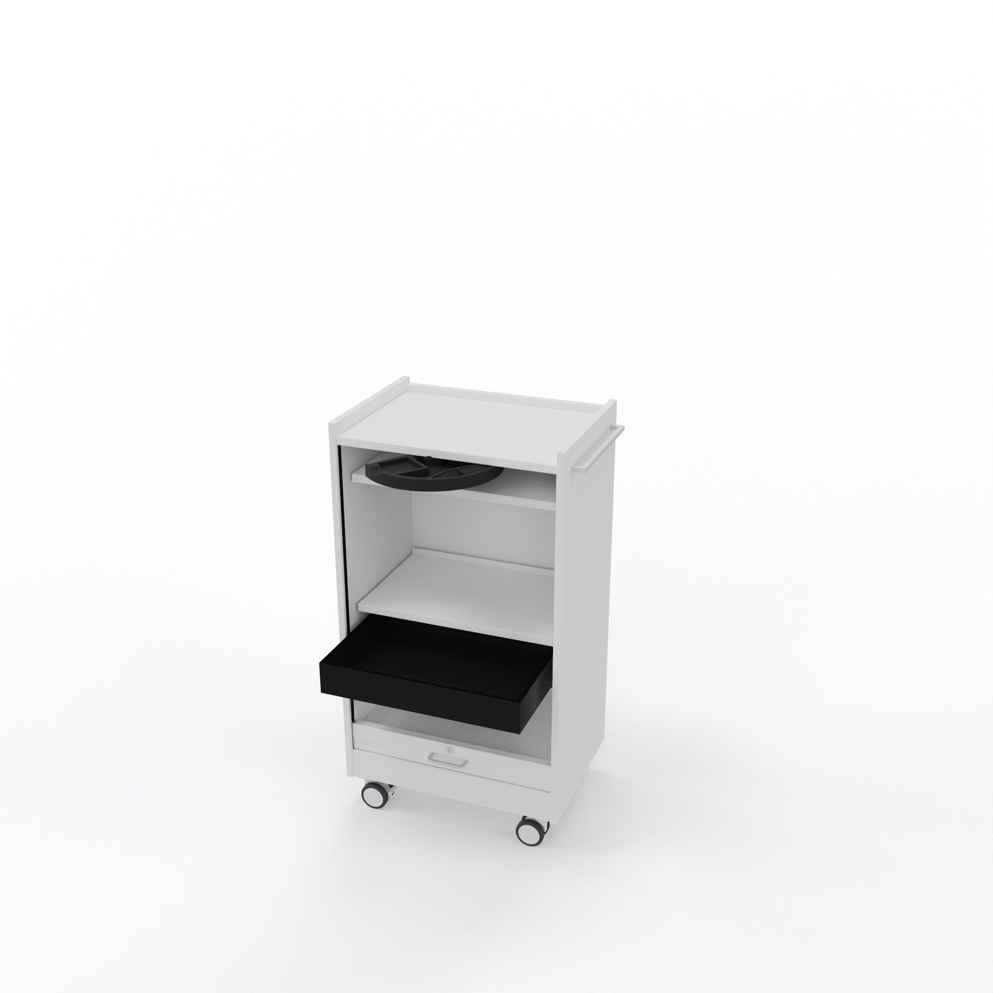 """Leuwico """"desk-add"""" mit Vertikalrollladen, 60 cm breit"""