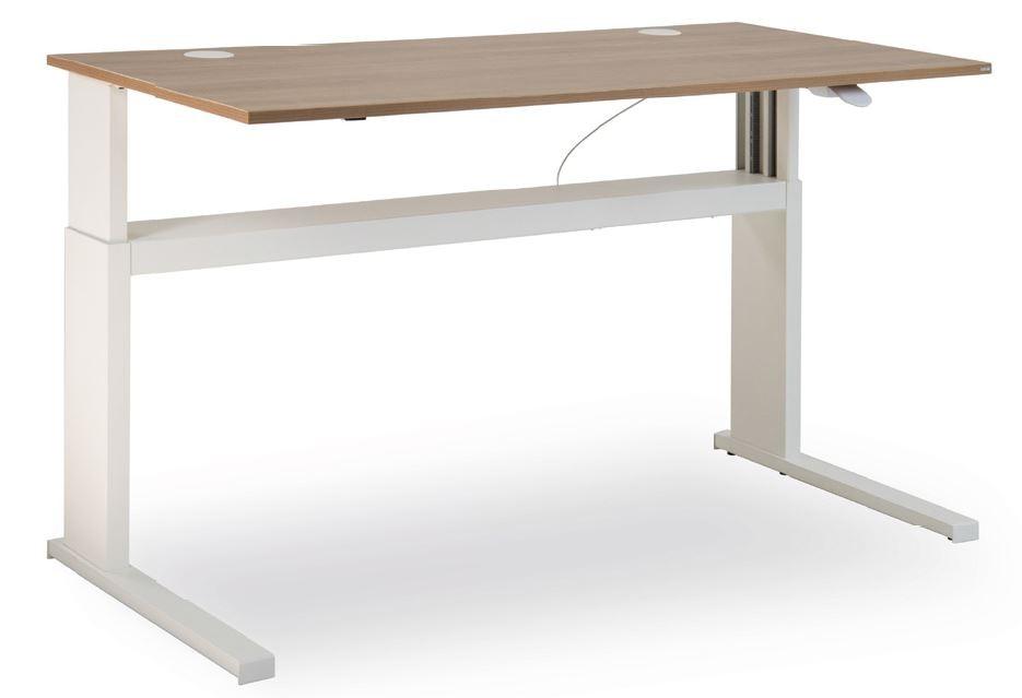 """Leuwico """"iMove S"""" rechteckige Tische, höhenverstellbar (Steh/Sitz)"""
