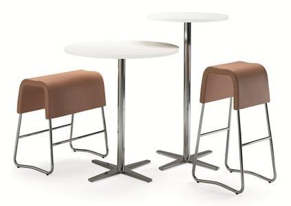 """Materia """"Plint""""  63 cm und 79 cm hoch für High Desking oder als Barhocker"""