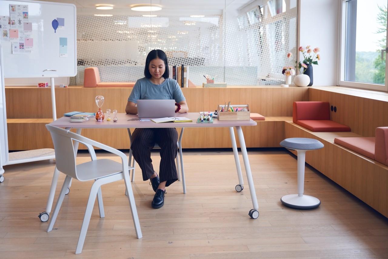 """Sedus """"se:lab"""" work & meet desk, Schreibtisch oder Konferenztisch"""