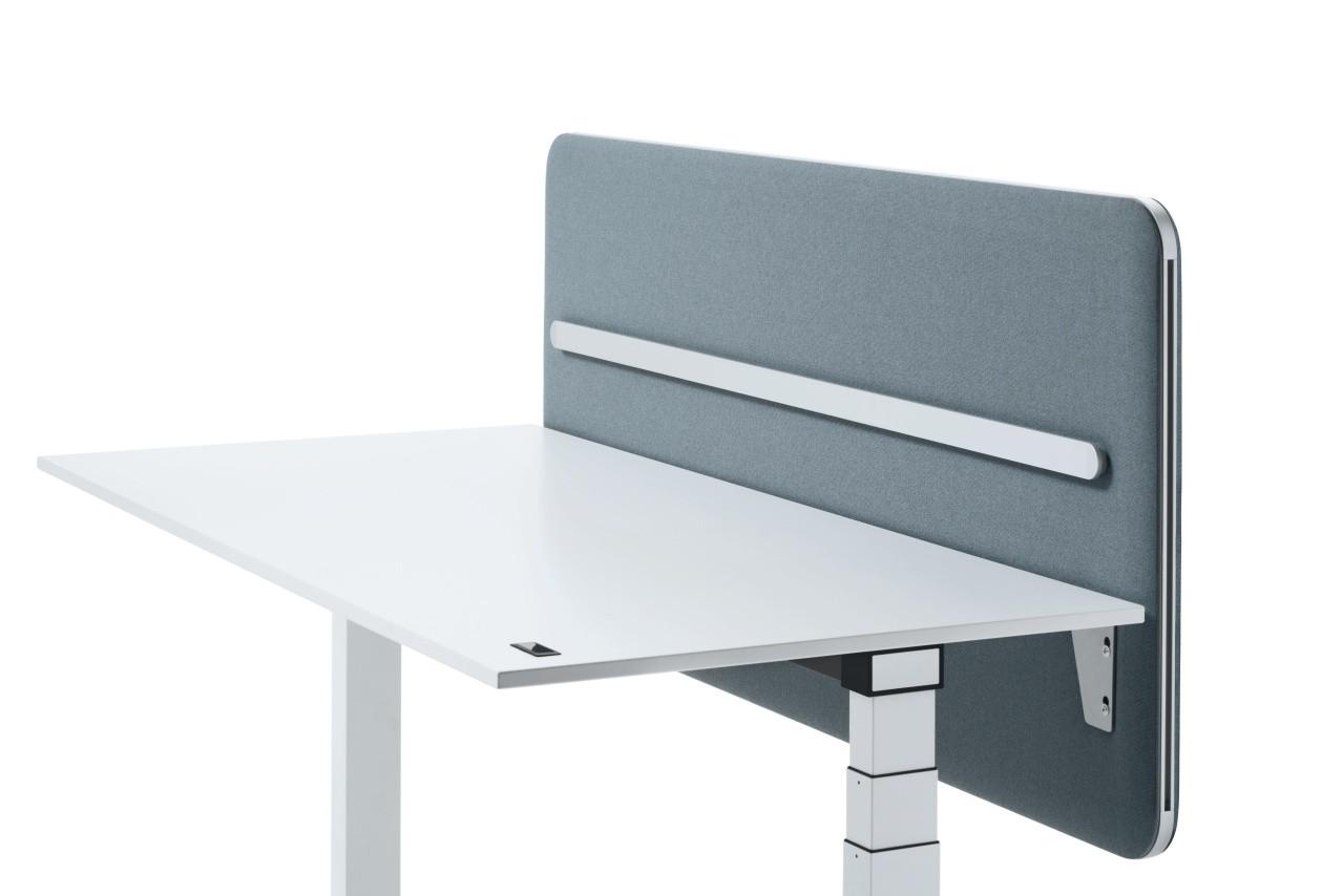 """Sedus """"se:wall"""" Stellwandsystem - Sichtschutz hinter dem Tisch"""