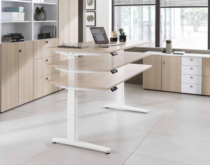 Hammerbacher - Sitz-Steh-Tisch Ergonomic Aktiv XBHM
