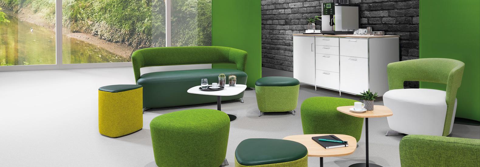 Kaufen Sie Dauphin Allora bei office + objekt 42. Dauphin bietet Lösungen für jeden Arbeitsplatz und jede Organisationsform - mit  flexiblen, individuell gestaltbaren Zonen