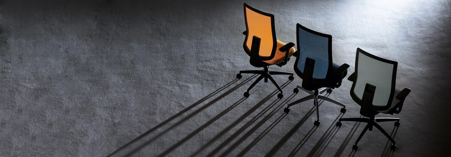 Mit zahlreichen Verstellmöglichkeiten lässt sich se:do schnell an verschiedene Benutzer anpassen - ideal für Wechselarbeitsplätze.