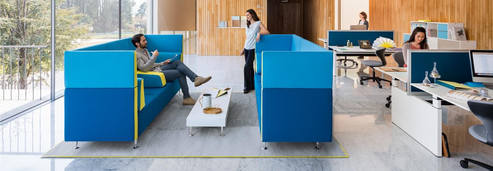 Konfigurieren Sie sopha von Sedus Seating bei office & objekt 42 um Ihr Büro perfekt auf Sie anzupassen!