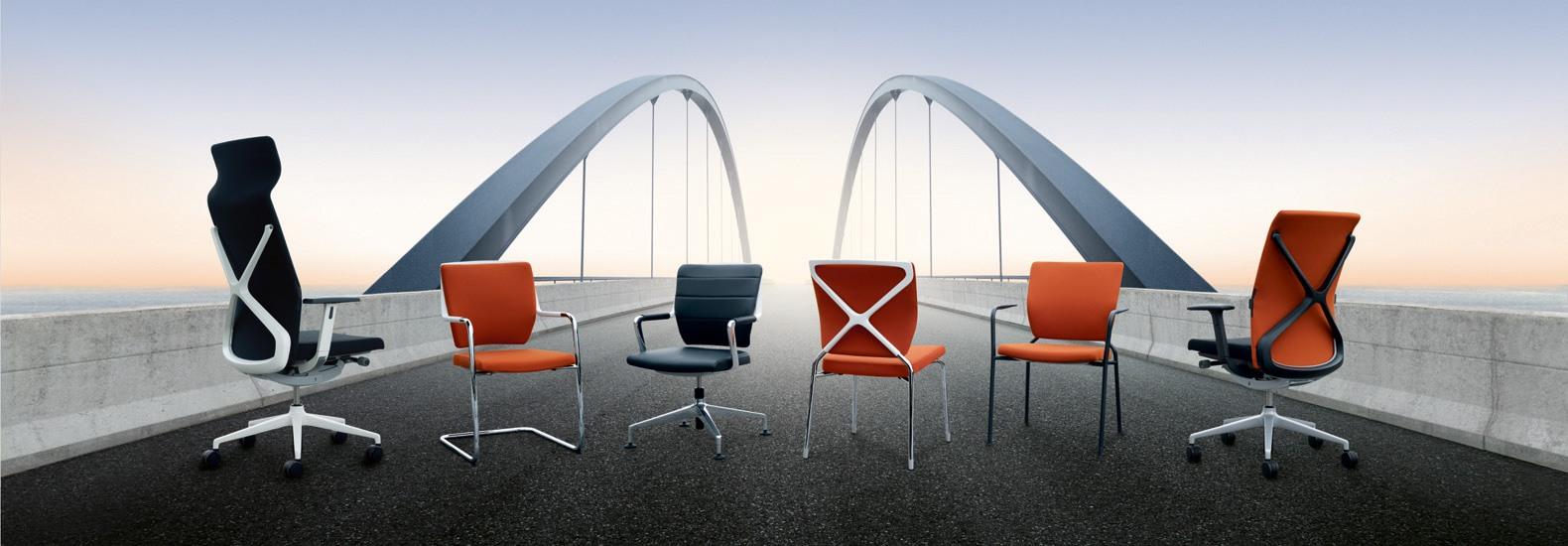 Konfigurieren Sie crossline von Sedus Seating bei office & objekt 42 um Ihr Büro perfekt auf Sie anzupassen!