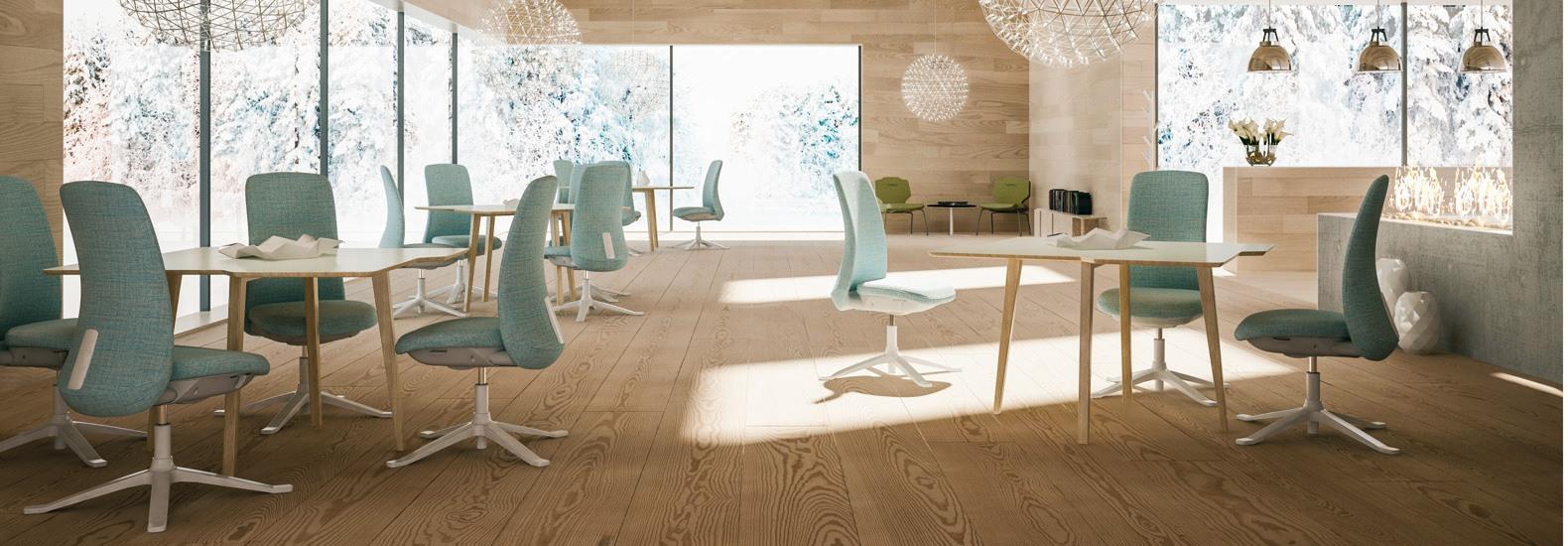 Als leistungsstarker Bürostuhl unterstützt der HÅG SoFi Sie dabei auf alle dynamischen Entwicklungen perfekt vorbereitet zu sein und fokussiert zu arbeiten.