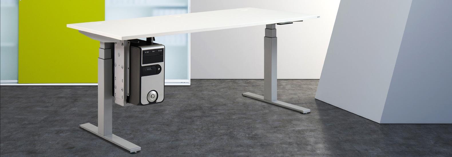 Leuwico Spine-o bei oo42.de kaufen! Als Premiumhersteller für ergonomische Arbeitsplätze liefert LEUWICO seit beinahe 100 Jahren hochwertige, höhenverstellbare Schreibtische und Büromöbel.