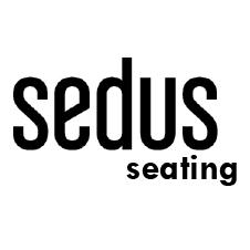 Logo Sedus Seating - Drehstühle, Chefsessel, Mehrzweckstühle uvm